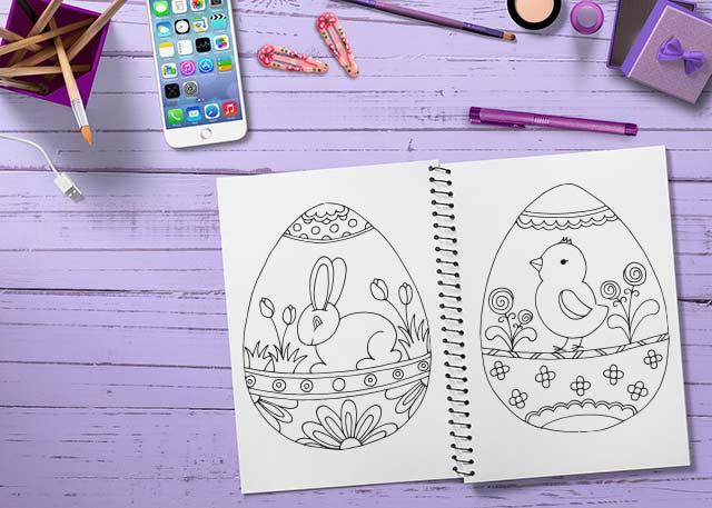 húsvéti tojásos színező